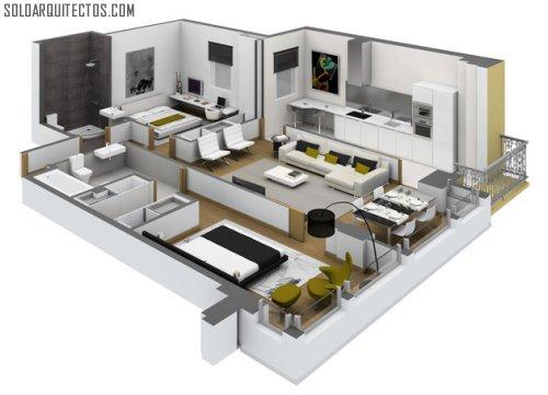Maquila cad soloarquitectos com - Como hacer planos de casas en 3d ...